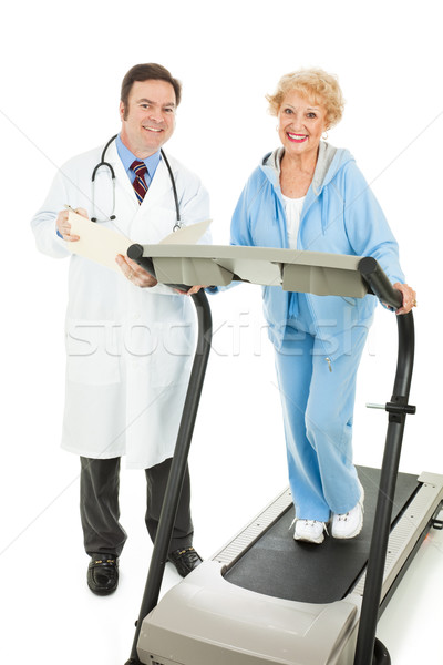Senior Fitness - Medically Supervised Stock photo © lisafx