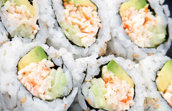 Stock photo: Sushi Background