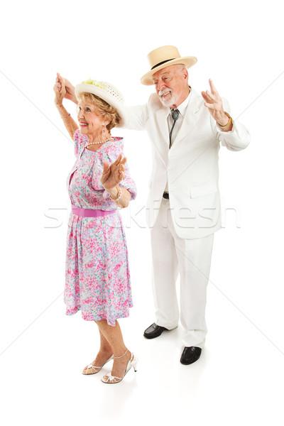 Güney yaşlılar dans stil dans Stok fotoğraf © lisafx