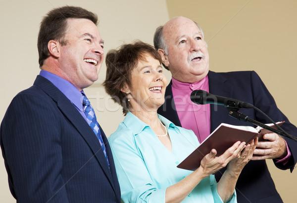 Spiritual Singers Stock photo © lisafx