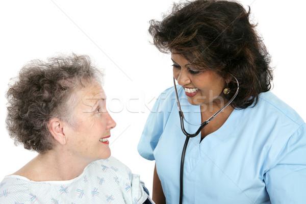 Caring Medical Professional Stock photo © lisafx