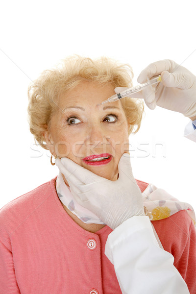 Cosmetic Injection - Frown Lines Stock photo © lisafx
