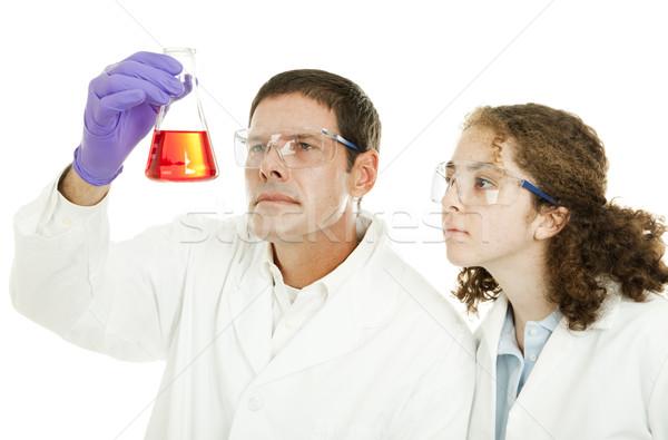 High School Science Stock photo © lisafx