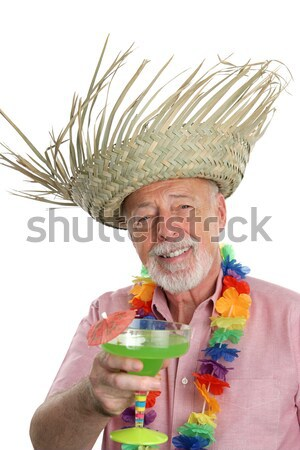 Margarita Man - Happy Stock photo © lisafx