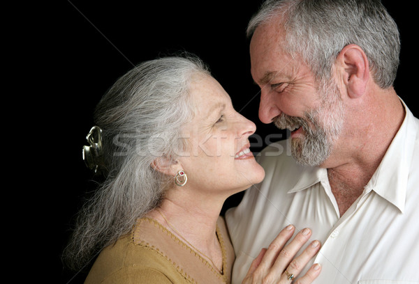 Mature Couple - Good Chemistry Stock photo © lisafx