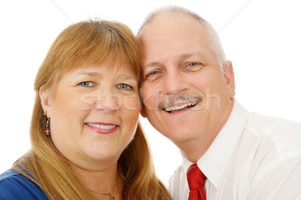 Mature Couple Headshot Stock photo © lisafx