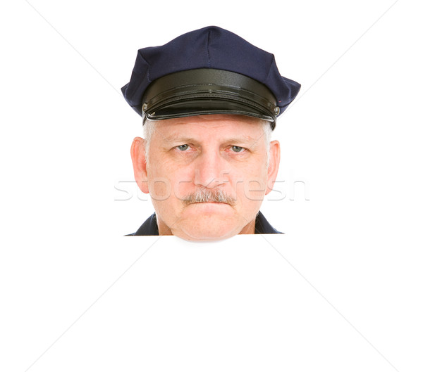 Police Head Angry Stock photo © lisafx