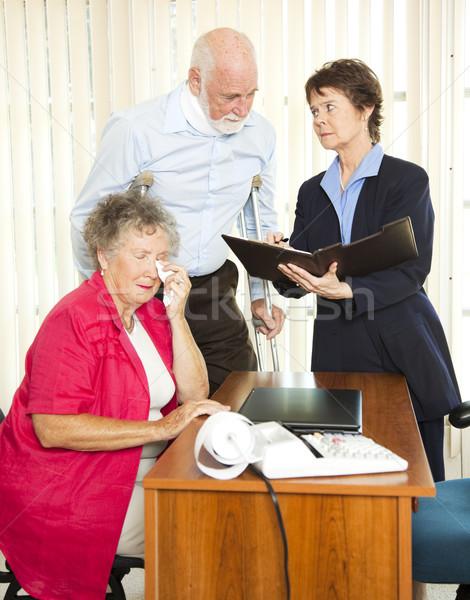 Personal Injury Attorney Stock photo © lisafx