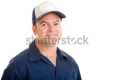 Average Blue Collar Guy Stock photo © lisafx