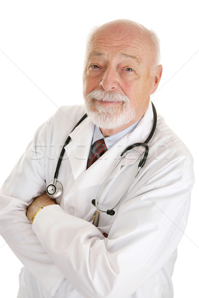Doctor - Face of Experience Stock photo © lisafx