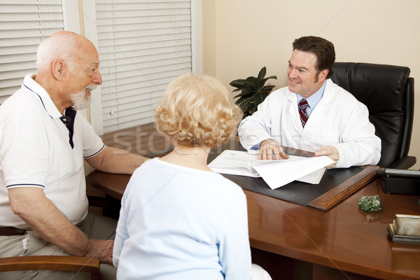 Doctor Discussing Treatment Plan Stock photo © lisafx