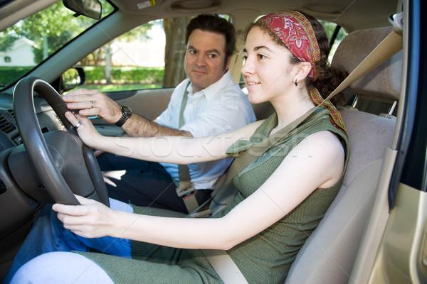 Teen Drivers Education Stock photo © lisafx