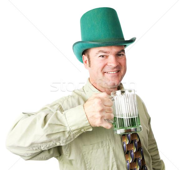 ирландский американский человека День Святого Патрика красивый Сток-фото © lisafx