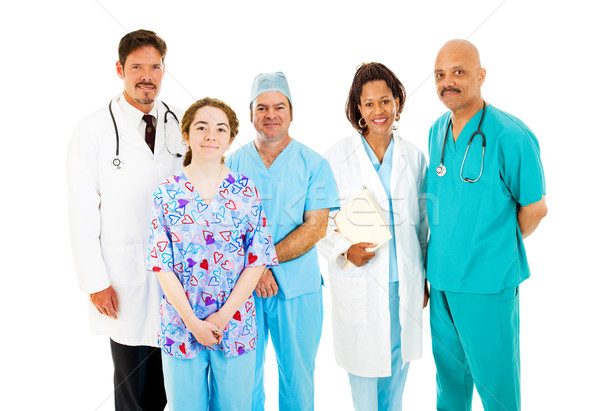 Diverse Medical Team Stock photo © lisafx