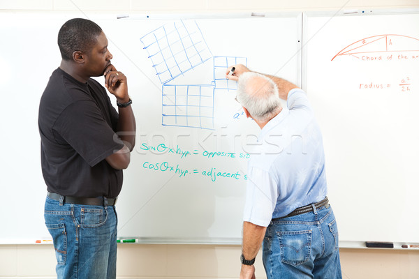 Adult Education - Advanced Mathematics Stock photo © lisafx