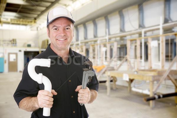 Plumbing Trade School Stock photo © lisafx