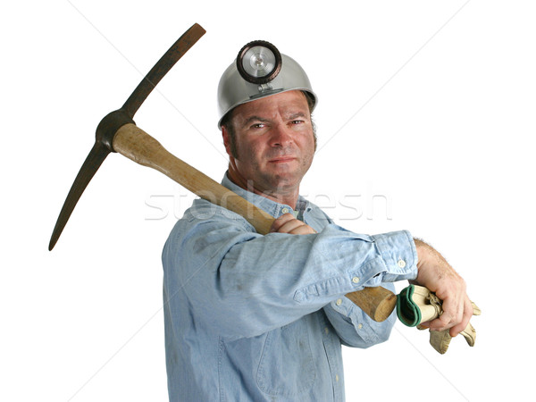 Proud Miner Stock photo © lisafx