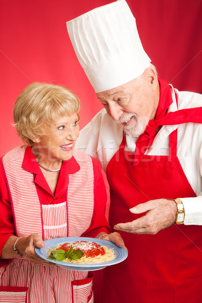 Lessons in Italian Cooking Stock photo © lisafx