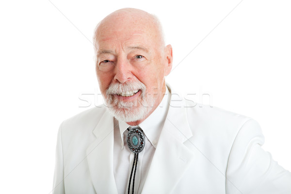 портрет южный человека красивый старший джентльмен Сток-фото © lisafx
