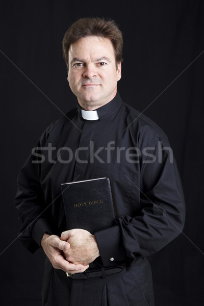 Portrait of a Priest Stock photo © lisafx