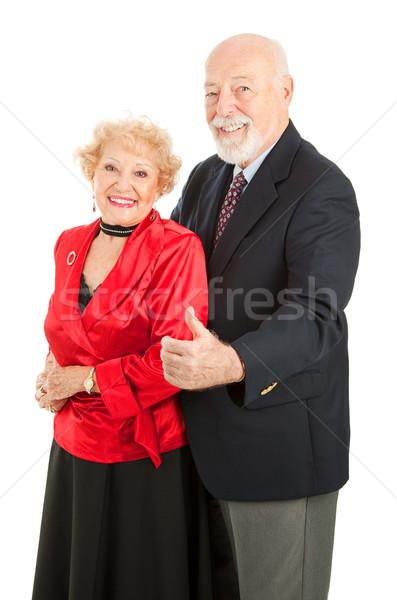 Dancing Seniors Thumbs Up Stock photo © lisafx