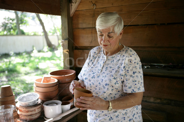 Stock photo: In The Potting Shed