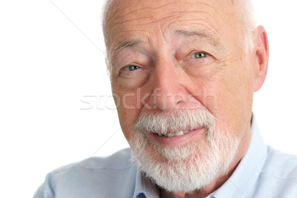 Senior Man - Trusting Stock photo © lisafx