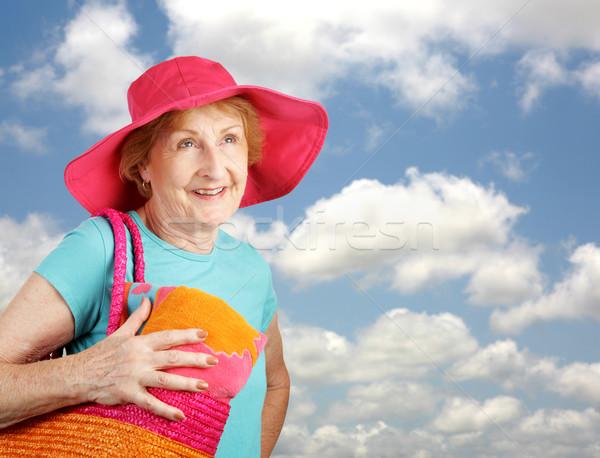 Summer Senior - Clear Skies Stock photo © lisafx