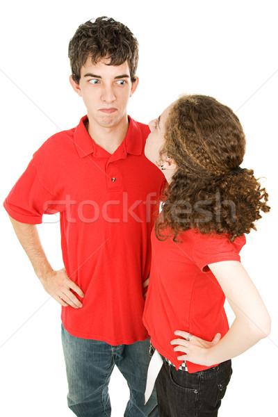 Teen Couple Arguing Stock photo © lisafx