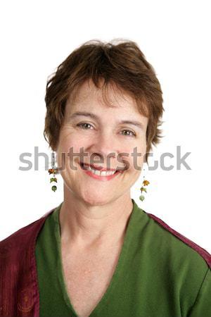 Mature Irish Woman Stock photo © lisafx