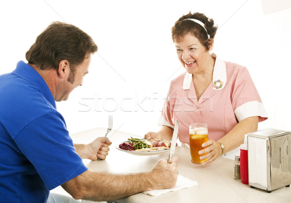 Hungry for Dinner Stock photo © lisafx