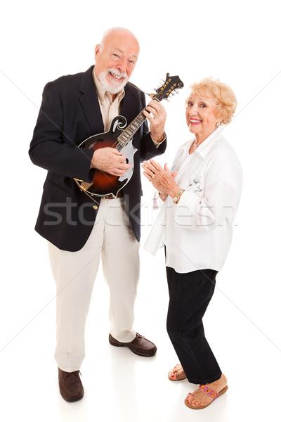 Senior Musicians Stock photo © lisafx