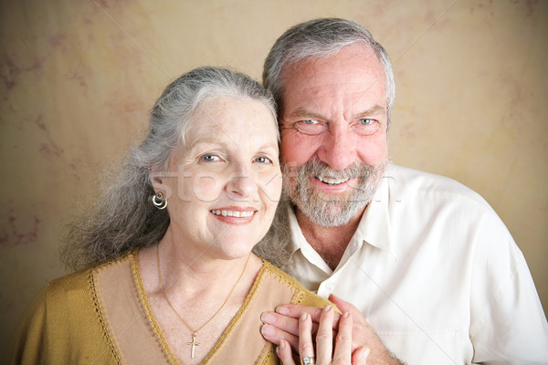 Beautiful Senior Couple - Christianity Stock photo © lisafx