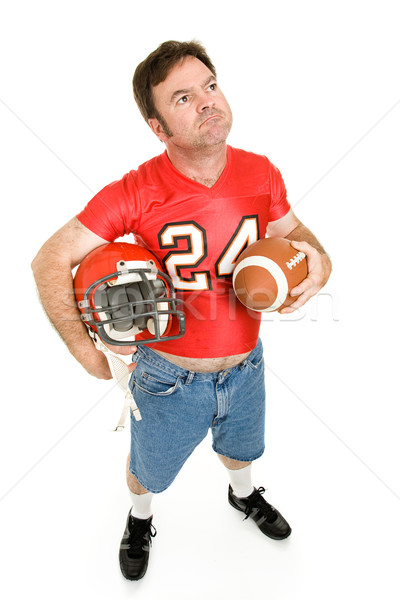 Football Fan - Nostalgic Stock photo © lisafx