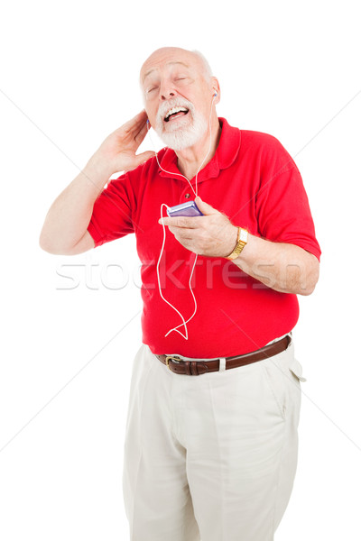 Jamming to the Oldies Stock photo © lisafx