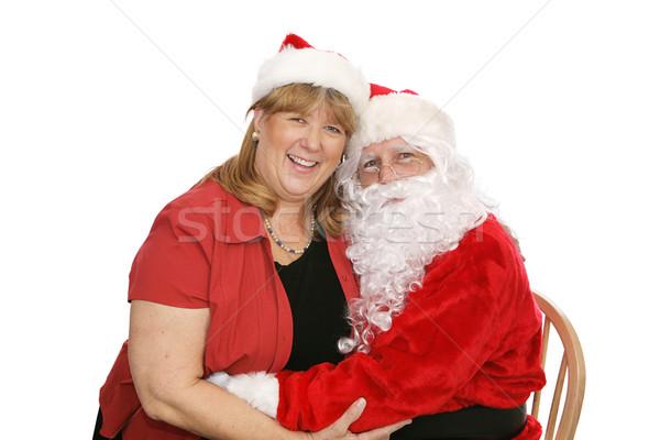 Santa & The Mrs Stock photo © lisafx