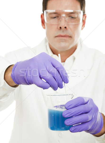 Mixing Compound in Laboratory Stock photo © lisafx