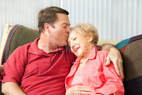 Caring For Elderly Mother Stock photo © lisafx