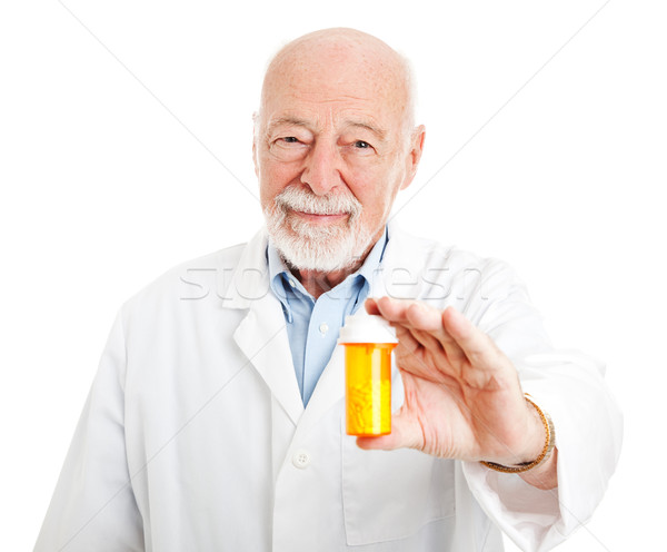 Friendly Neighborhood Pharmacist Stock photo © lisafx
