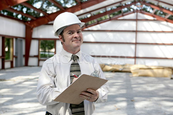Construction Inspector - Satisfied Stock photo © lisafx