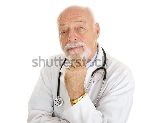 Doctor - Intelligent  Stock photo © lisafx