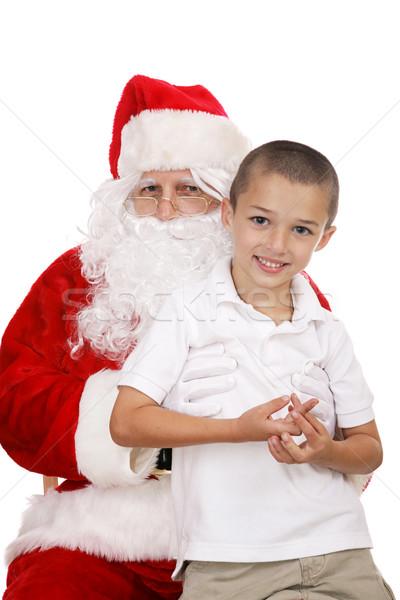 On Santas Lap Stock photo © lisafx