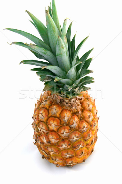 Pineapple Isolated on White Stock photo © lisafx