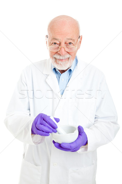Pharmacist - Experienced and Wise Stock photo © lisafx