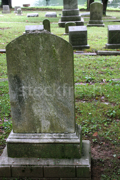 Old Tombstone Stock photo © lisafx