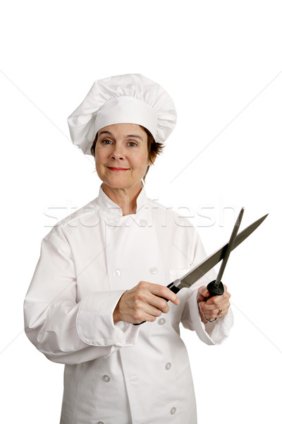Chef Sharp and Ready Stock photo © lisafx