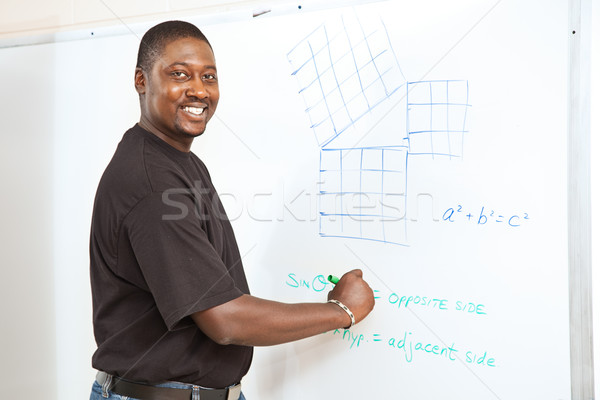 College Student - Advanced Math Stock photo © lisafx