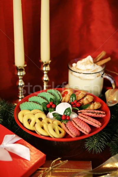 Christmas Treats Vertical Stock photo © lisafx