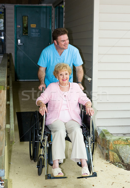 Nursing Home - Accessible Stock photo © lisafx