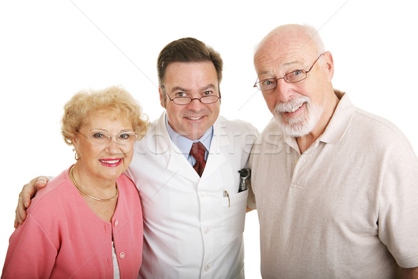 Optical Series - Couple & Optometrist Stock photo © lisafx